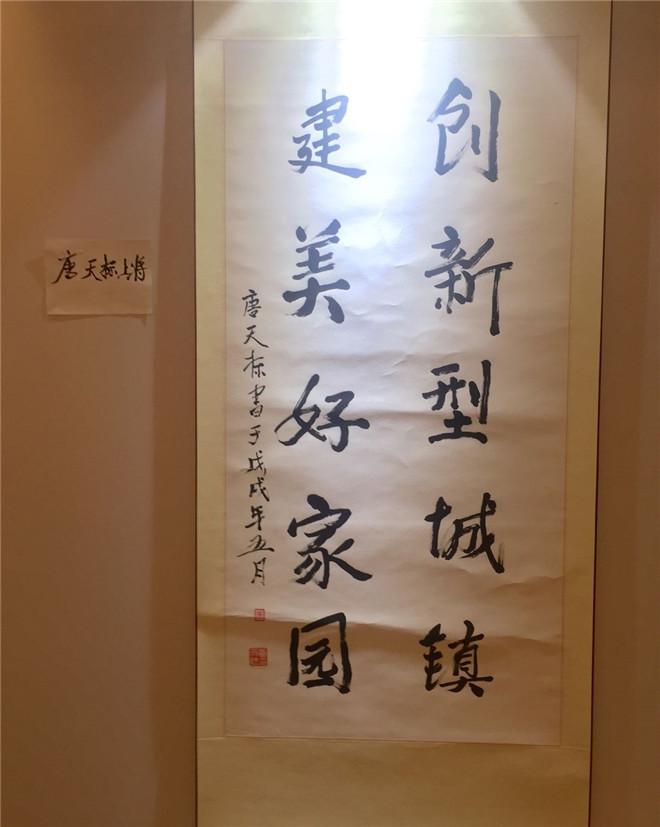 中国画报协会和中国榜书艺术研究会在浙江余姚举办书画展览