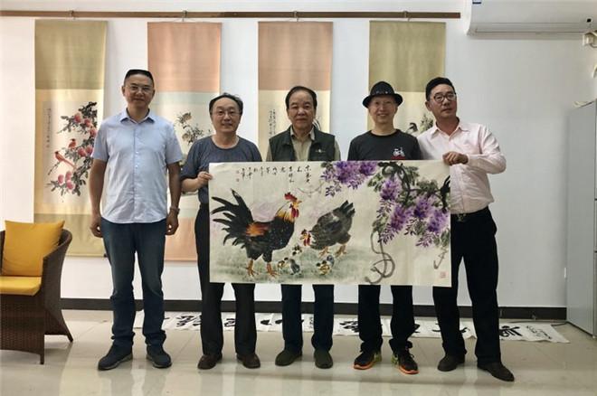 《中国书画报》三亚写生基地举行揭牌仪式