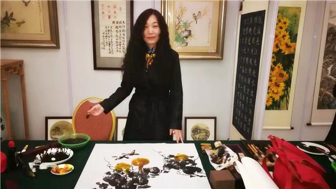 碧桂园九华当代彩墨研究院与首都书画院、中国北京国艺人民书画院名家笔会成功举办
